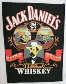 Jack Daniels - 'Old Time Sour Mash' Giant Backpatch